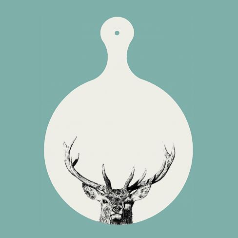 Majestic Stag Chopping Board