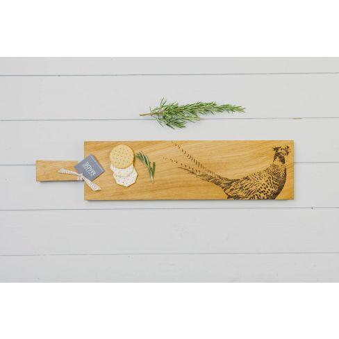 Long Oak Serving Board - Pheasant