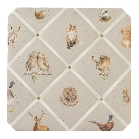 Country Animals - Fabric Notice Board