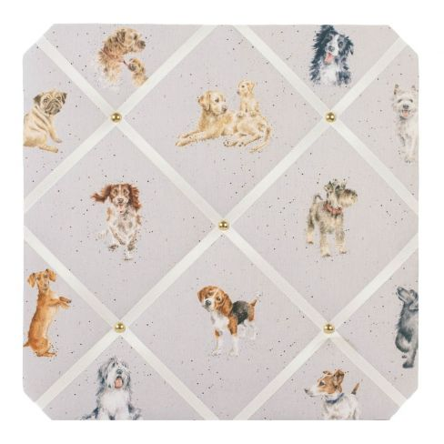 A Dog's Life - Fabric Notice Board