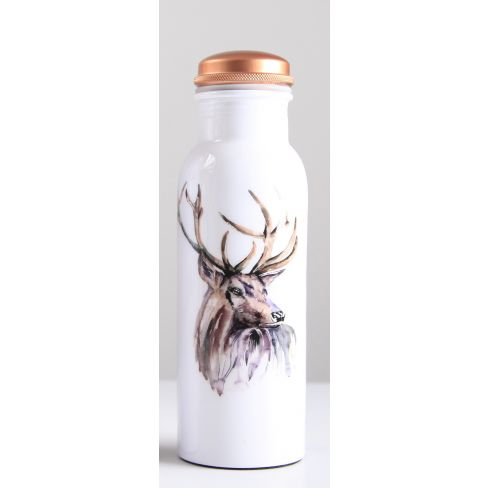 Stag Copper Water Bottle 750ml