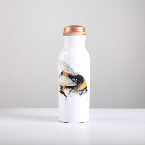 Bee Copper Water Bottle 750ml