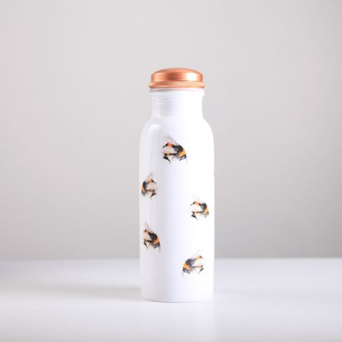 Bee Pattern Copper Water bottle 750ml