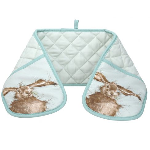Wrendale Wild Hare Double Oven Gloves