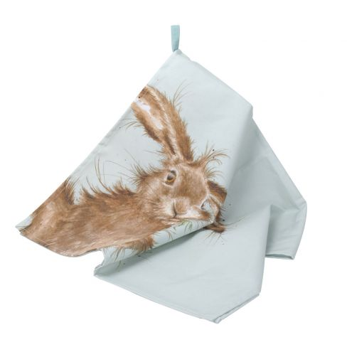 Wrendale Wild Hare Tea Towel