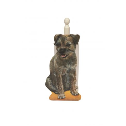 Border Terrier Kitchen Roll Holder