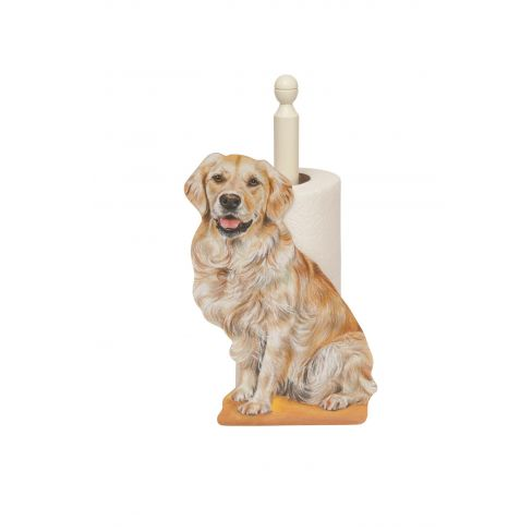 Golden Retreiver Kitchen Roll Holder