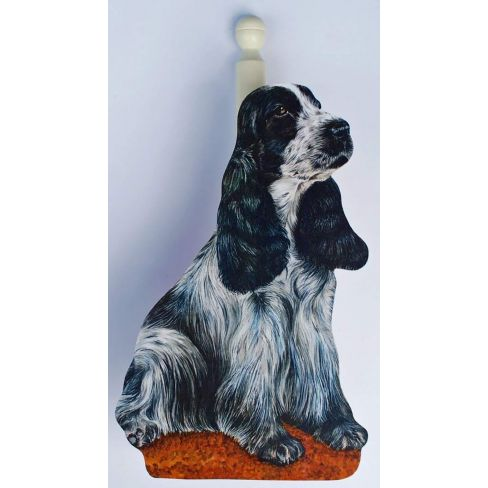 English Cocker Spaniel Loo/Kitchen Roll Holder