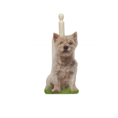 Westie Loo/Kitchen Roll Holder
