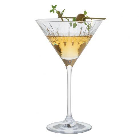 Dartington Limelight Mitre Martini Pair