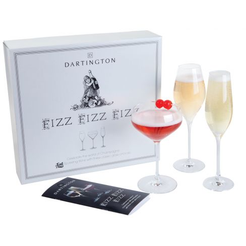 Dartington Fizz Fizz Fizz Three Pack