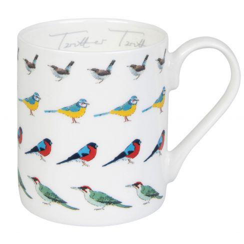 Garden Bird Mug Twitter