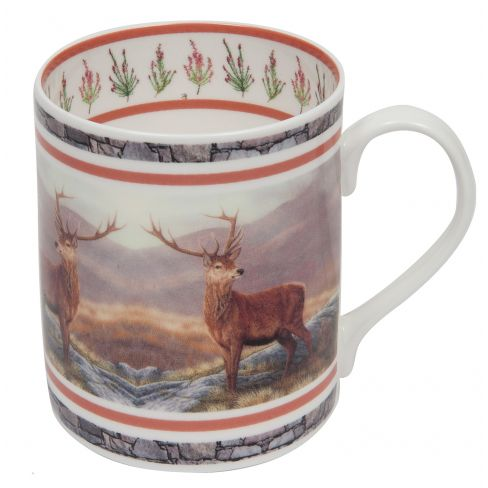 Country China Mug Stag