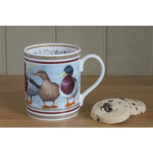 Country China Mug Ducks
