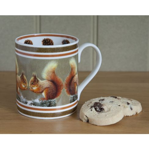 Country China Mug Squirrel