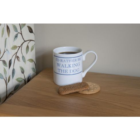 Id rather be walking the Dog  Mug