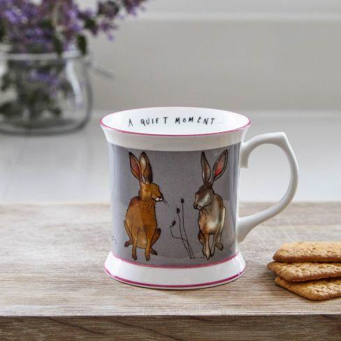 Fine Bone China Mug - Hare