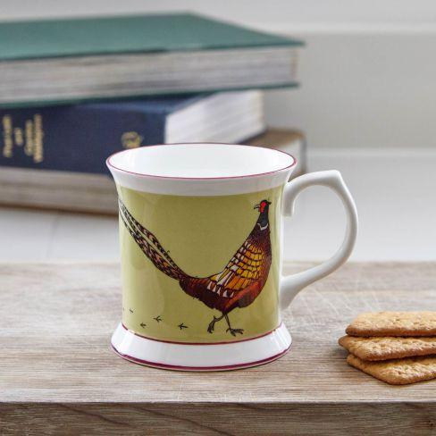 Fine Bone China Mug - Pheasant