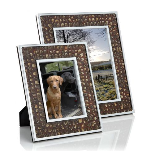 Genuine Cock Pheasant Photo Frames