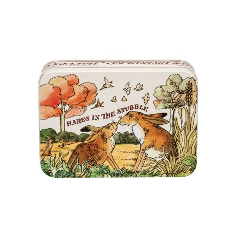 Hare in the Stubble Tin