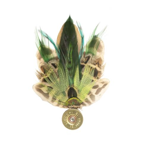 Feather Pin - Green