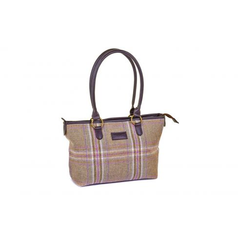 Traditional Classic Tweed Tote Bag - Blossom