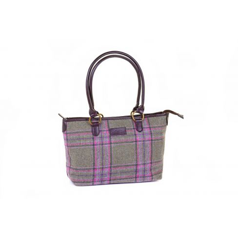 Traditional Classic Tweed Tote Bag - Meadow