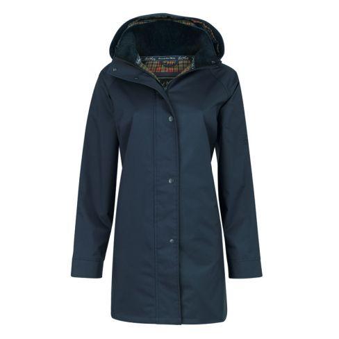 Oxford Waterproof Coat - Navy