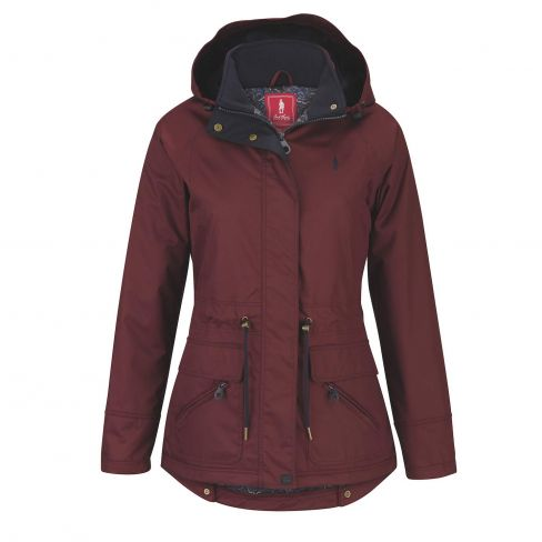 Jack Murphy Danielle Waterproof Coat - Winter Burgundy