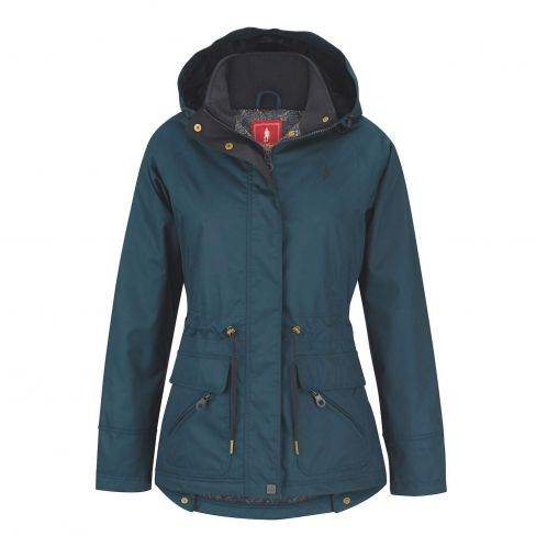 Jack Murphy Danielle Waterproof Coat - Teal