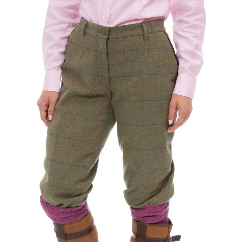 Alan Paine Combrook Tweed Breeks - Juniper