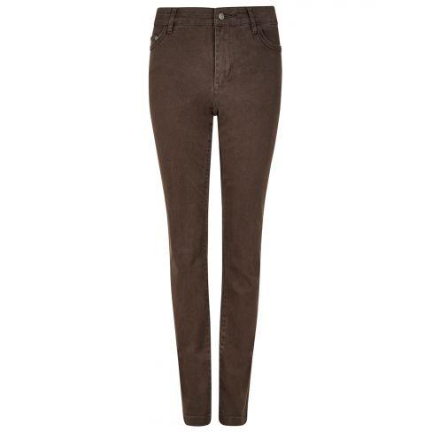 Dubarry Foxtail Soft Moleskin Stretch Jeans - Bourbon