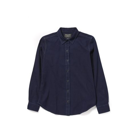 Filson Ladies Lightweight Alaskan Guide Shirt - Indigo
