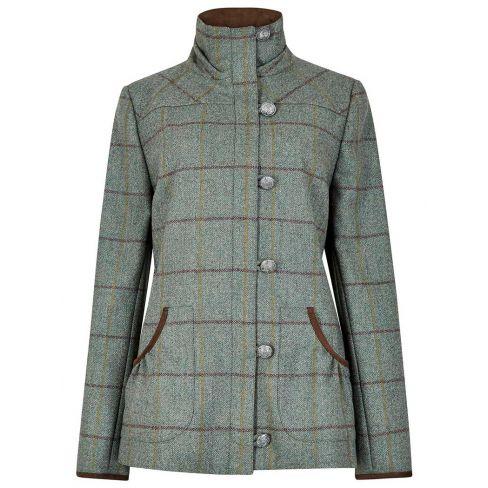 Dubarry Bracken Tweed Utility Jacket Sorrel