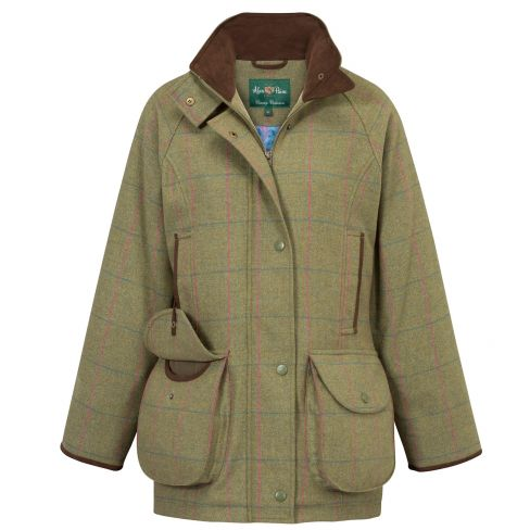 Alan Paine Ladies Combrook Shooting Coat Juniper
