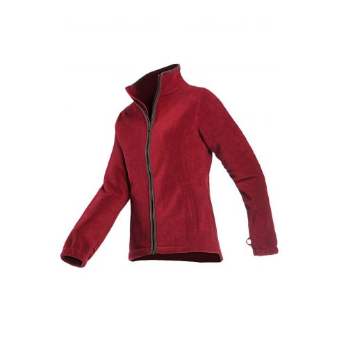 Baleno Sarah Fleece Jacket - Burgundy