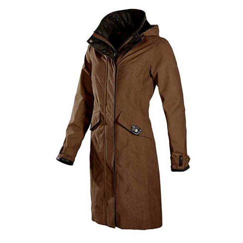 Baleno Chelsea Mid Coat - Earth Brown