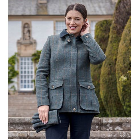 Ladies Sherborne Lambswool Field Coat