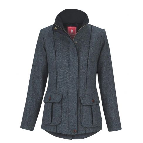 Jack Murphy Prue Tweed Jacket - Blue Teal