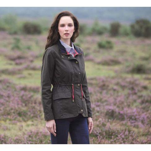Lauren Wax Jacket - Olive