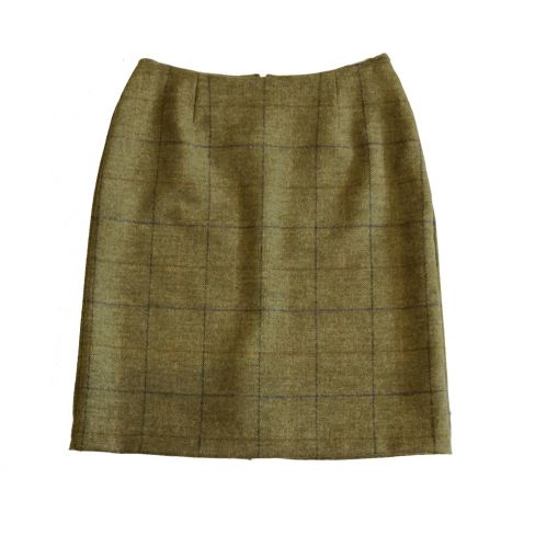 Melissa Pencil Skirt Light - Olive