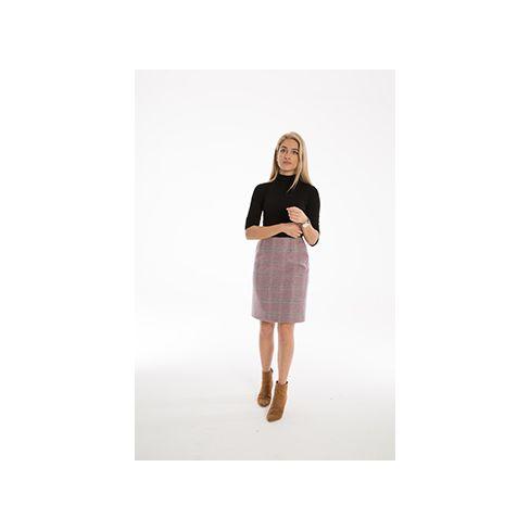 Serina Pencil Skirt Light Pink
