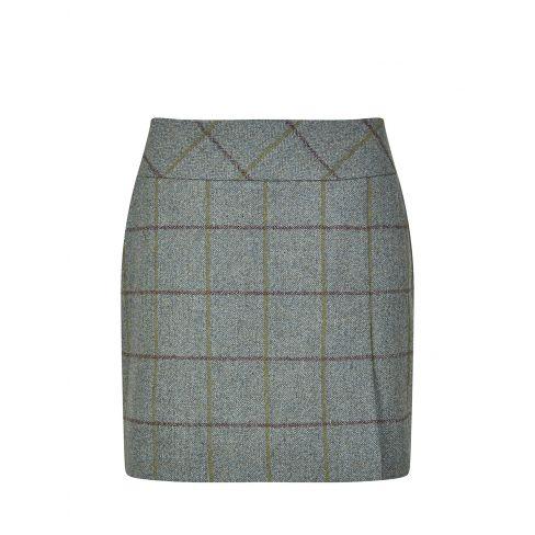 Dubarry Bellflower Tweed Skirt 43cm Length Sorrel