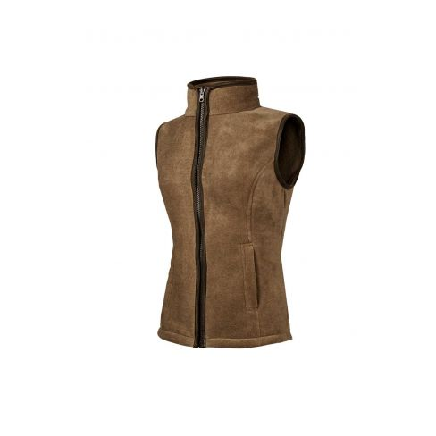 Baleno Sally Fleece Gilet - Camel