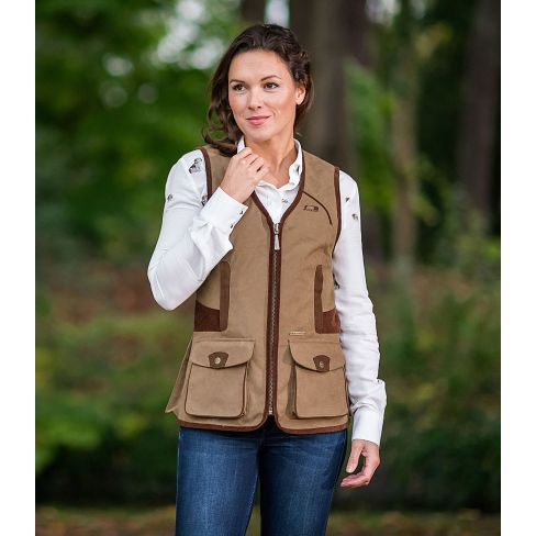 Baleno Ladies Chatham Gilet Camel