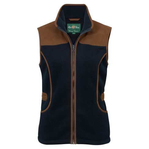Aylsham Ladies Shooting Gilet Dark Navy