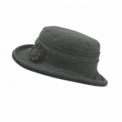 Jack Murphy Celbridge Tweed Hat - Olive