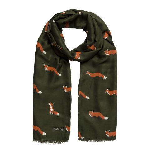 Silky Soft Scarf - Fox