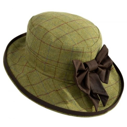 Alan Paine Combrook Ladies Tweed Hat - Aspen