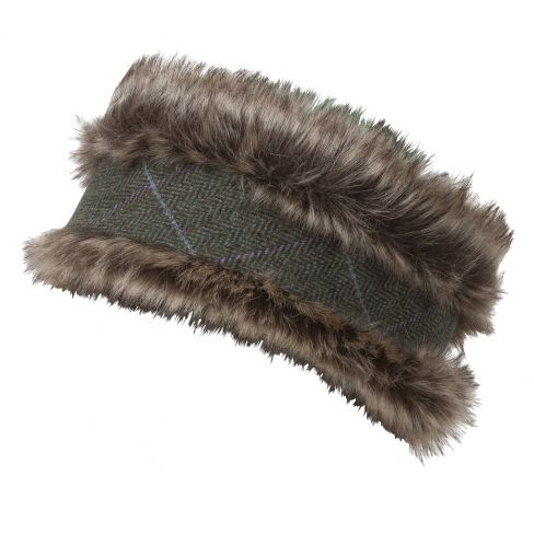 Albany Tweed Reversible Headband